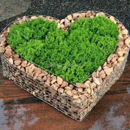 сердце клумба
