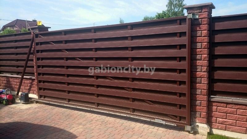 Купить откатные ворота в Беларуси
