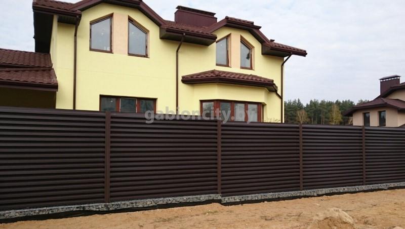 Металлические заборы в Минске цены